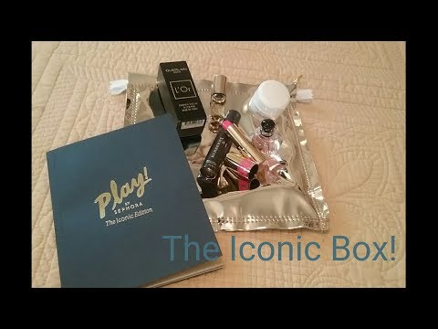 Play! By Sephora The Iconic Edition!!!