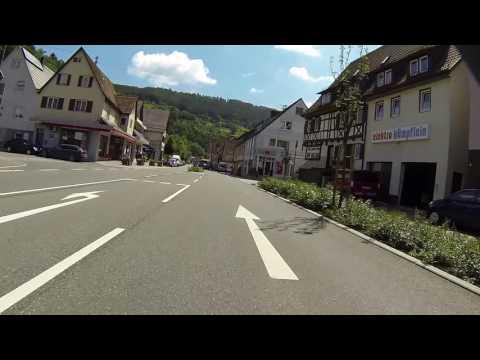 Fahre Mit Mit Auf Der B463 Von Calw über Wildberg Nach Nagold.