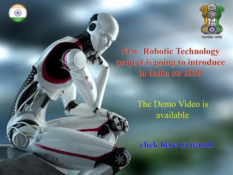 New Robotic Technology project in India on 2020