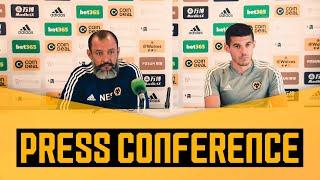 Nuno and Conor Coady meet the press ahead of Europa League opener!