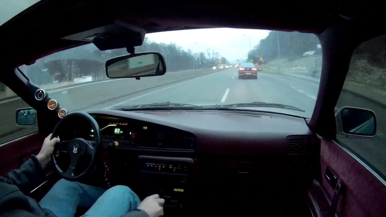 Mazda 626 GD USDM F2T 2.2 Turbo Short winter ride