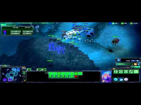 ACL Starcraft 2 Gameplay - Parkerino POV vs Jaydos - Xel Naga Caverns: Part 1