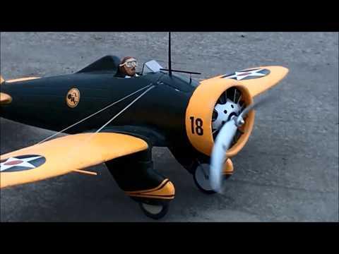"""Boeing P-26 """"Peashooter""""  Aeromodelismo Peru/ Uyuyuy"""