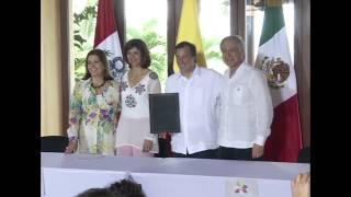 Cancilleres de Alianza del Pacífico firman acuerdo que establece el Programa de Vacaciones y Trabajo