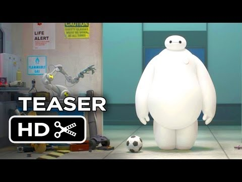 Big Hero 6 Official Teaser Trailer #1 (2014) - Disney Animation Movie HD