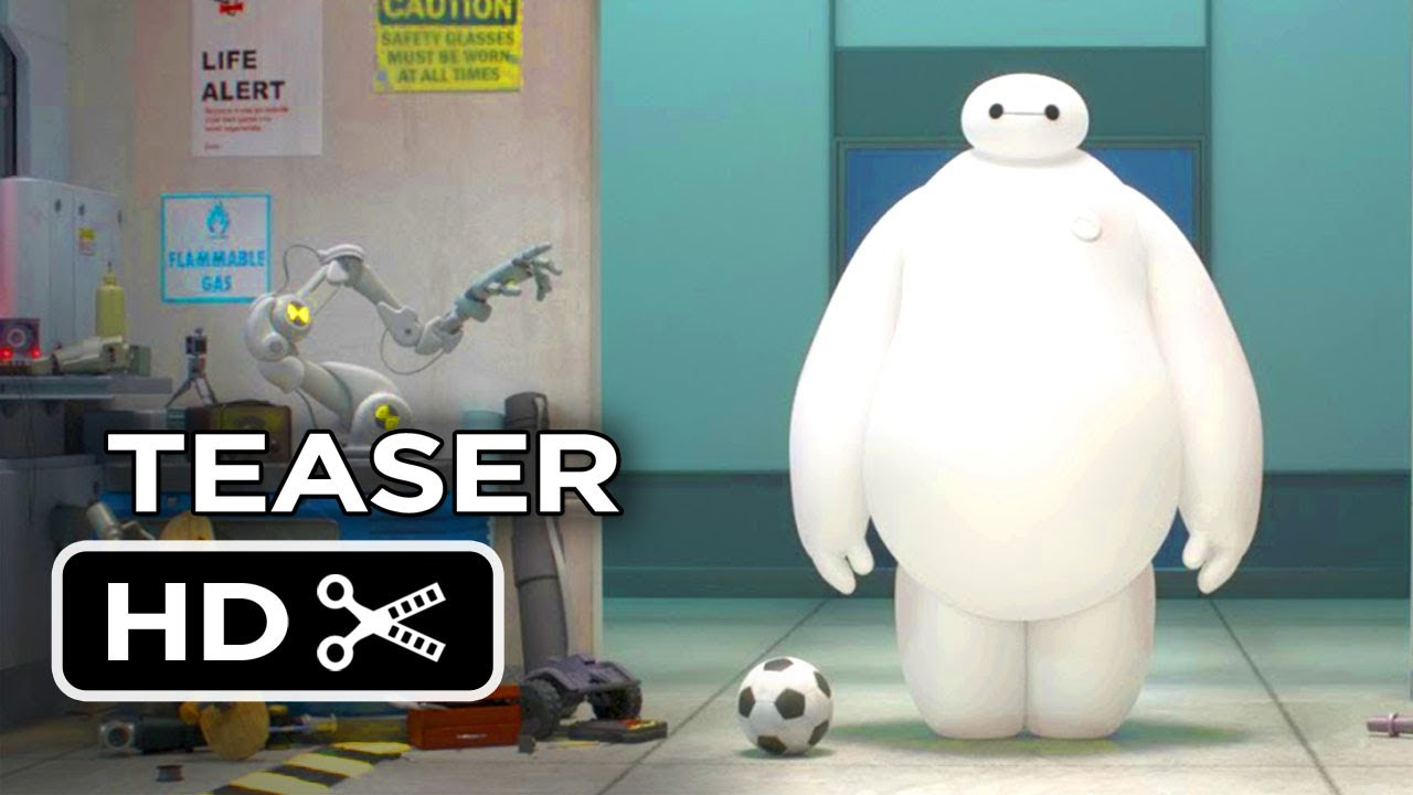 big hero 6 official teaser trailer 1 2014 disney