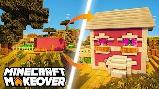 Pink Palace! - Minecraft Makeover - Ep.14