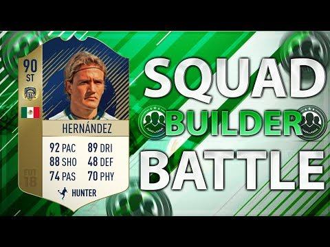 FIFA 18: F8TAL PRIME IKONE HERNANDEZ SQUAD BUILDER BATTLE vs Stefan FeelFIFA ⚡