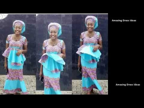 Top African Trendy Ladies Fashions-ANKARA STYLES ANY EVENT Styles ASO LATEST Dresses