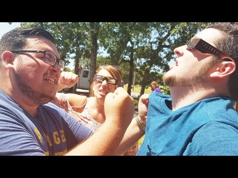 SOLAR ECLIPSE FREAKOUT! *ALMOST WENT BLIND*