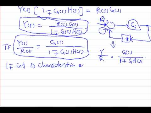 Control System (lecture 5.3) Block Diagram Reduction - YouTube