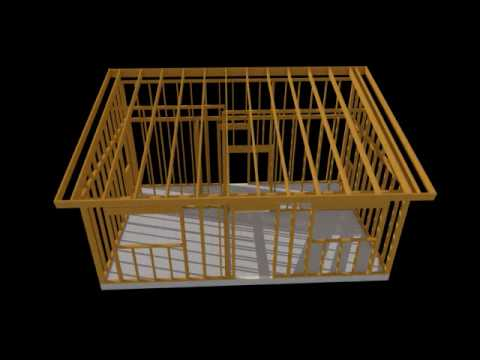 Casas prefabricadas de madera edu curso youtube for Como se construye una casa