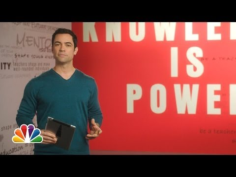 Danny Pino: The More You Know PSA on Digital Literacy