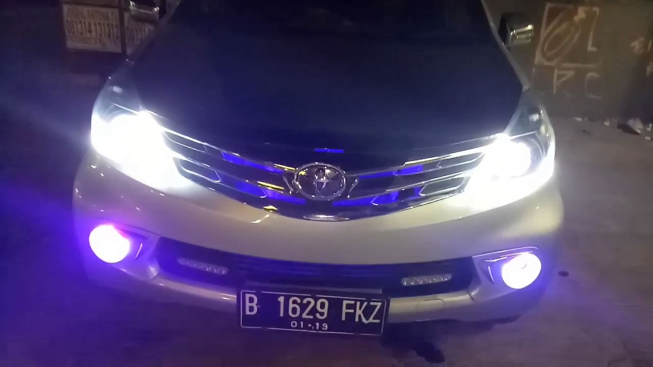 Lampu Depan Grand New Veloz Avanza Ceper Toyota All Dgn Headlamp Double Angel Eye Projector Dan Flexible Drl 2 Mode