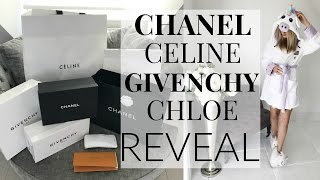 One of Iam CHOUQUETTE's most viewed videos: CHANEL, GIVENCHY, CELINE & CHLOE REVEAL | LUXURY HAUL | IAM CHOUQUETTE