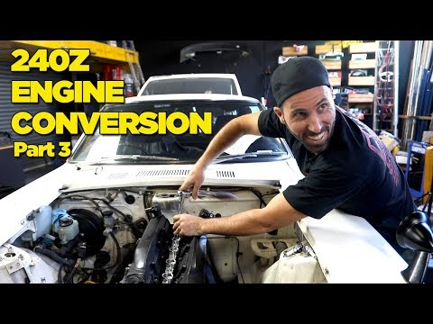 240Z - RB26 Engine Conversion [PART 3]
