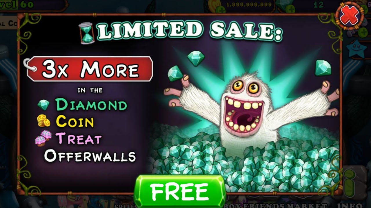TapJoy Offers Gone? | My Singing Monsters