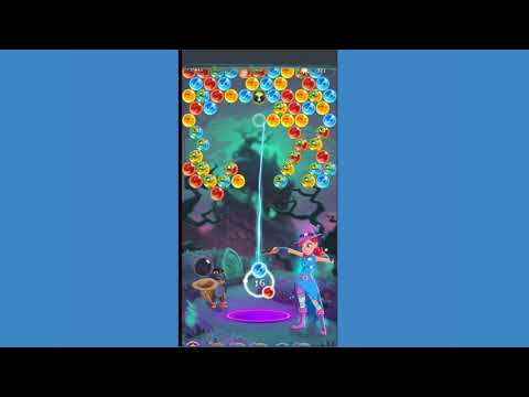 Bubble Witch 3 saga Level 1384 ~ FIRST LOOK