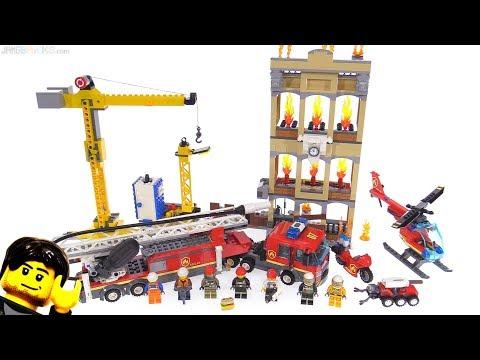LEGO City Downtown Fire Brigade review 👨🚒👩🚒 60216