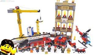 Baixar LEGO City Downtown Fire Brigade review 👨🚒👩🚒 60216