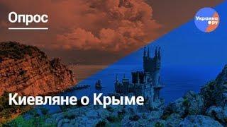 Опрос: киевляне о Крыме