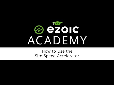 How to Use Site Speed Accelerator