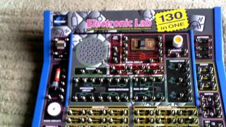 130 in 1 Electronics lab hobby beginners Projects Kit
