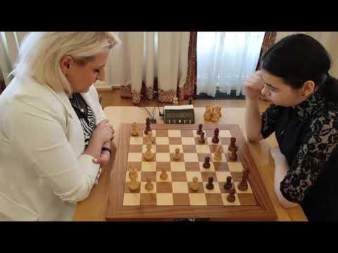 GM Danilian (Armenia) - GM  Goryachkina (Russia) FF Blonde-Brunette Match