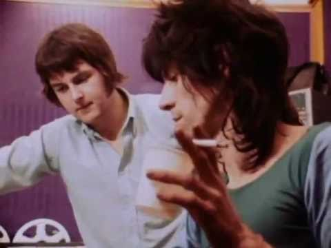 Keith Richards and Glyn Johns Olimpic Studio 1970 producing get yer ya-ya´s out