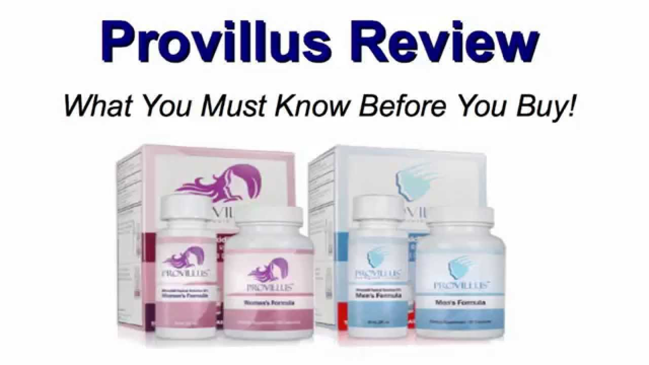 Provillus Reviews Provillus Reviews Before After Youtube