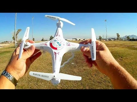Upgraded Bayangtoys X5C-1 720p HD FPV Drone Flight Test Revi