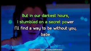 Lorde - Writer in the Dark (Instrumental) with Lyrics