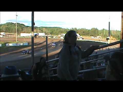 hibbing raceway 2017 #4 Mike Blevins Racing