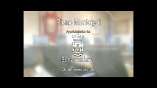 Pleno Municipal 27/02/2020 - Ayuntamiento de Benalmádena