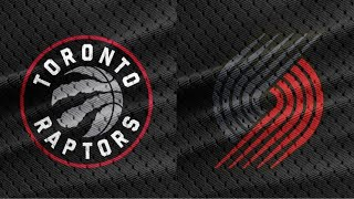 NBA Live Stream: Toronto Raptors Vs Portland Trail Blazers (Live Reaction & Play By Play) 2nd Half