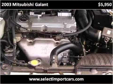 2003 Mitsubishi Galant available from Select Imports of Richmond