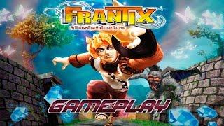 FRANTIX - PSP - Gameplay / Review - PuzzleLandia