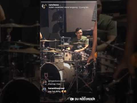 TERBARU Pasha UNGU Latihan Menggunakan Drum