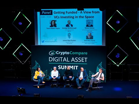Investment trends and advice for crypto entrepreneurs | CryptoCompare Digital Asset Summit