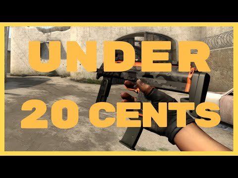 CS:GO - Top 10 Skins under 20 Cents