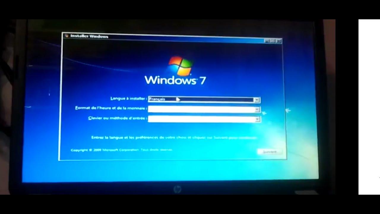 formatting bootable usb drive windows 7