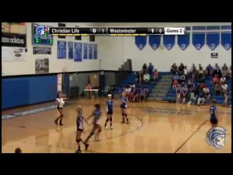 Volleyball Game- Christian Life vs. Westminster Christian