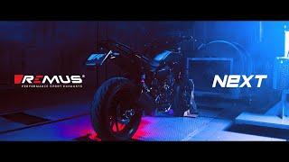 YAMAHA MT07 REMUS NXT sport exhaust!