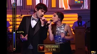 "Big Band: Nico y Sara Menta cantan ""You are the sunshine of my life"" - Elegidos"