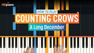 """A Long December"" by Counting Crows 