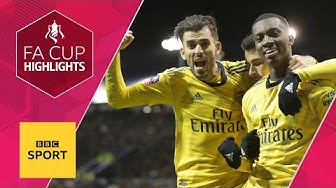 Arsenal cruise past Portsmouth into quarter-finals | FA Cup fifth round | BBC Sport
