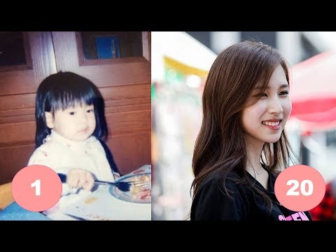 Thumbnail: Mina TWICE Childhood | From 1 To 20 Years Old