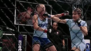 Watch the highlights from Roxanne Modafferi vs Emily Whitmire | The Ultimate Fighter