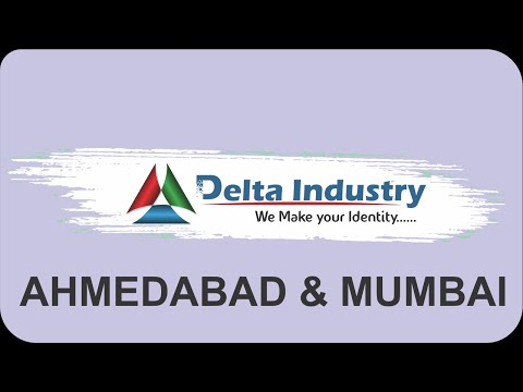 DELTA INDUSTRY MANUFACTURER ALL TYPE OF ID CARD & DIGITAL LANYARDS MACHINE