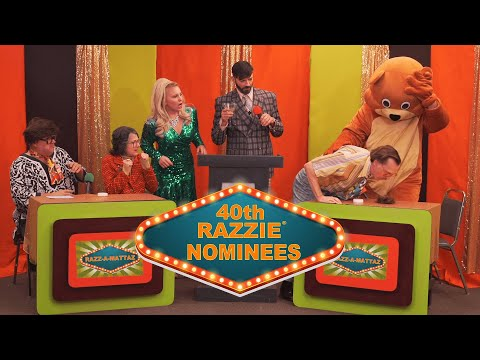 40th Razzie® Award Nominations!